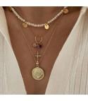 Zodiac Medal Gold...