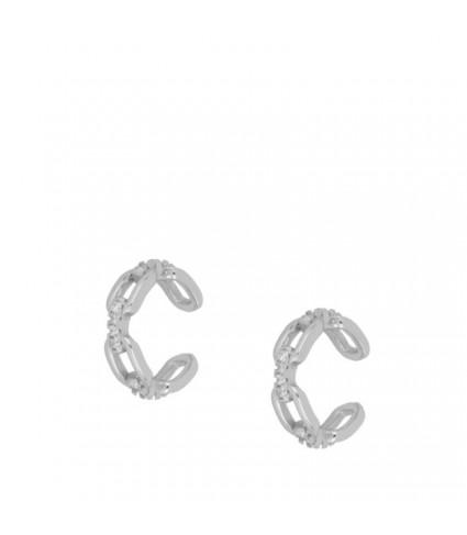 Ear Cuff Chain Circonitas (UNIDAD)