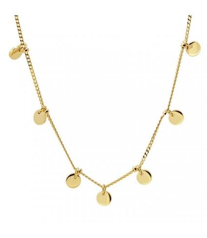 Collar 7 Chapitas oro