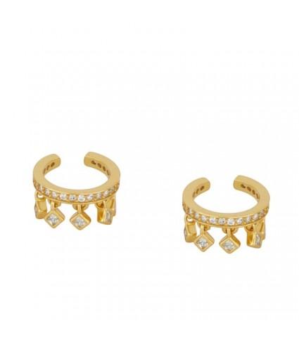 Ear Cuff Colgantes oro