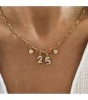 Date Gold Necklace