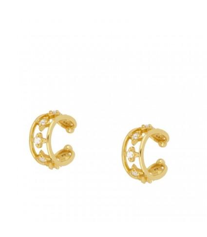 Ear Cuff Estrellas oro (UNIDAD)