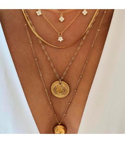 Collar Lucy Oro_modelo 2