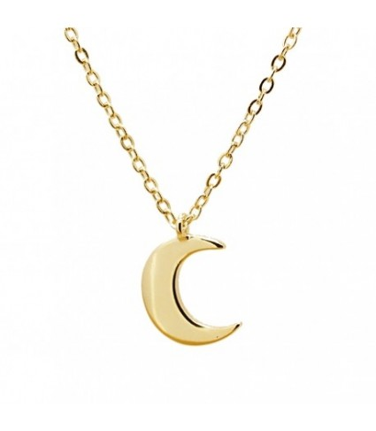 Gargantilla Mini moon dorado