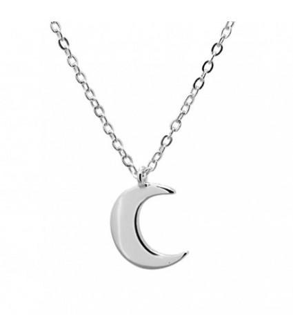 Gargantilla Mini moon plata