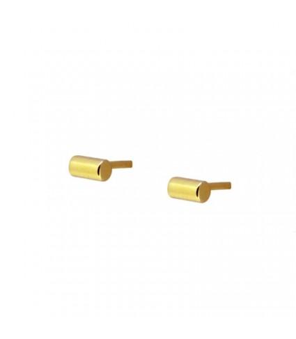 Pendiente Barrita Mini oro (UNIDAD)