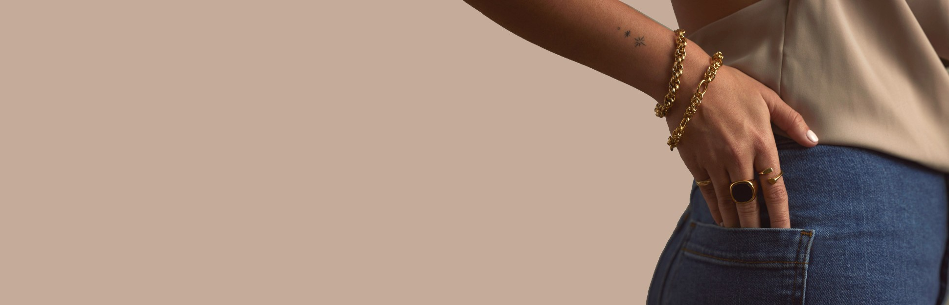Bracelets and anklents made of 925 sterling silver and 18k gold plating   Holibia.com